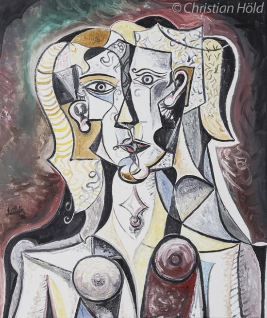 Weibliches Bildnis, Kubismus