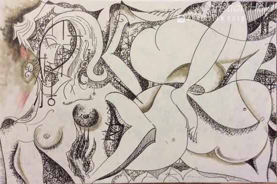 Kubismus, Akt, Höld